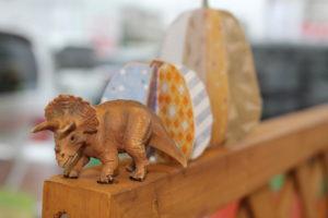 恐竜とかぼちゃ